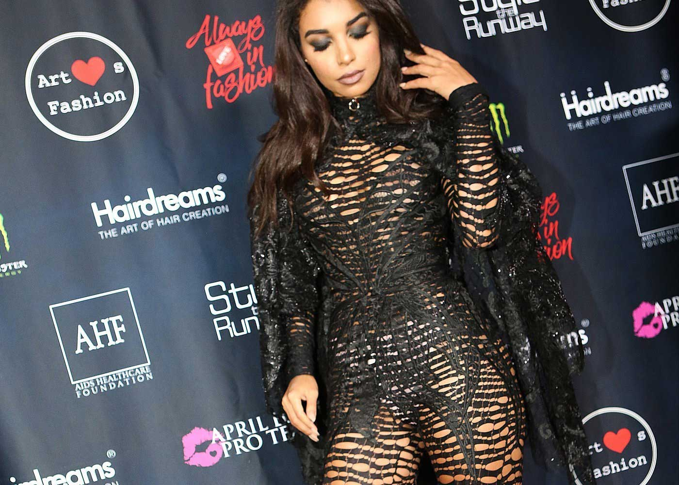 Latina Model on the Red Carpet