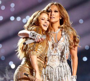Latinas JLo and Shakira